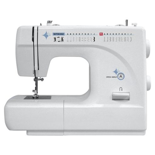 Tesco Ej09 Electric Sewing Machine - White