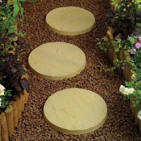 Oxford Mellow Buff Stepping Stones 300mm