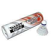 Talbot Torro Tech 250 badminton shuttlecocks - 4 tubes of 6