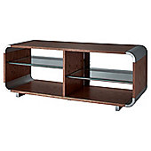 "Alphason 55"" Walnut TV Stand AUR1100 - Walnut"