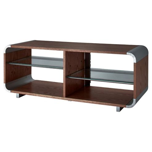 Alphason 55 Walnut TV Stand AUR1100 - Walnut