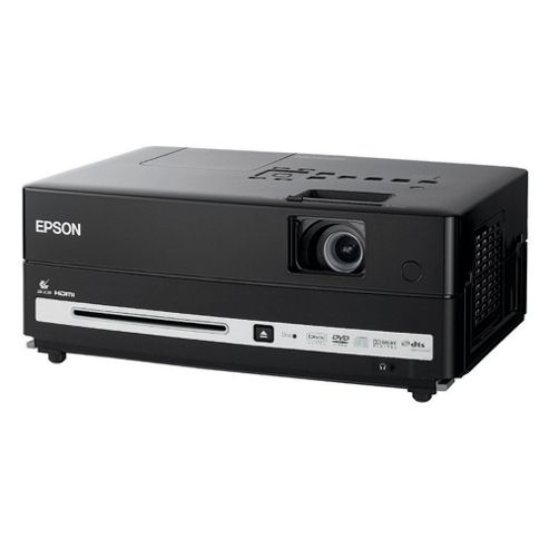 Epson EH-DM3 Home Cinema Projector with Built in DVD Player and Speakers