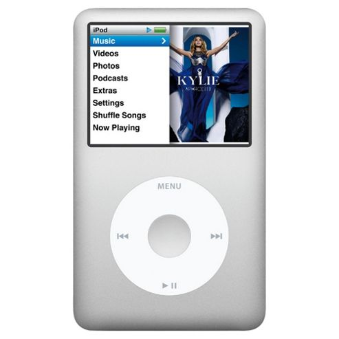 Apple 160GB classic iPod Silver