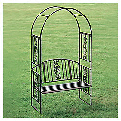 Greenhurst Steel Arch with Bench Seat
