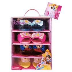 Disney Princess Dress up Shoe Selection Box