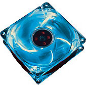 Nebula Arctic Blue 4Led Light 80mm PC Cooling Fan