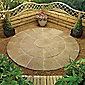 Lincoln Weathered Bronze Circle Kit 2.4m + Patio Base Kit