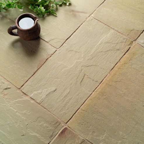 Natural Stone Jade Patio Kit 5.76m2
