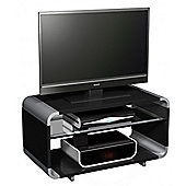 Alphason Aura AUR800-B Black TV Stand for Screens up to 37 inch