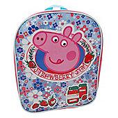 Character Peppa Pig 'Home Sweet Home' Strawberry Jam Backpack
