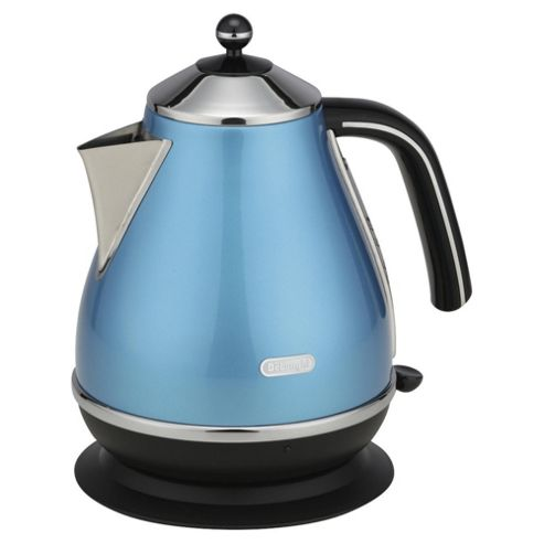 Delonghi KBO3001 1.7L Cordless Icona Jug Kettle - Azure Blue