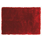 Tesco Rugs Luxurious Shaggy Rug, Red 150X240Cm