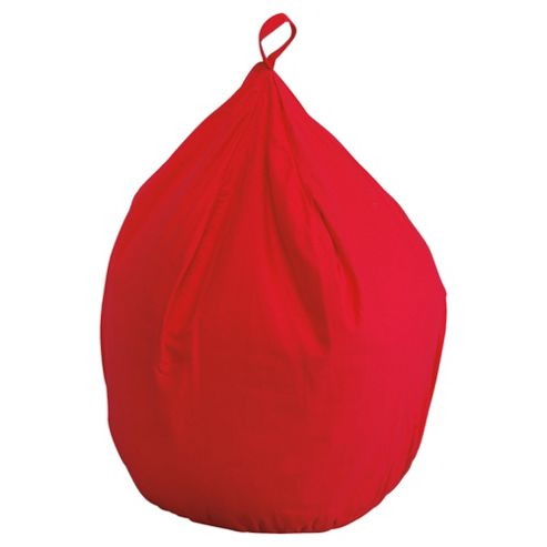 Beanbag Cotton Drill, Red