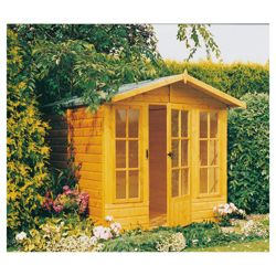 7x7 Chatsworth Finewood Wooden Summerhouse