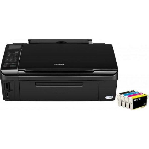 Epson Stylus SX515W Wireless AIO (Print, Copy and Scan) Inkjet Printer