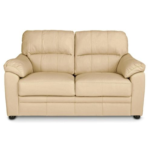 buy valencia small 2 seater leather sofa cream from our ForSmall Cream Sofa