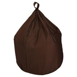 Beanbag Cotton Drill, Chocolate