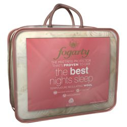 Fogarty Wool Best Nights Double Mattress Protector