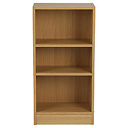 Fraser 3 Shelf Bookcase, Oak-Effect
