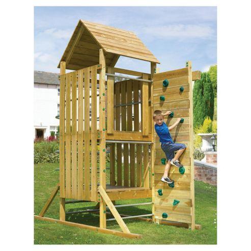 TP Kingswood Top Deck Wooden Climbing Frame Set