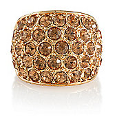 Pave Crystal Ring, Medium