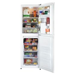 Beko CDA563FW Fridge Freezer, Energy Rating A, Width 54.0cm. White