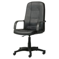 Hamburg High-back Office Chair, Black