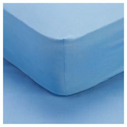 Tesco Kids Single Fitted Sheet - Blue