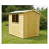 7x5 Finewood Classic Apex Shed with Topcoat