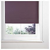 Thermal Blackout Blind, Plum 90Cm