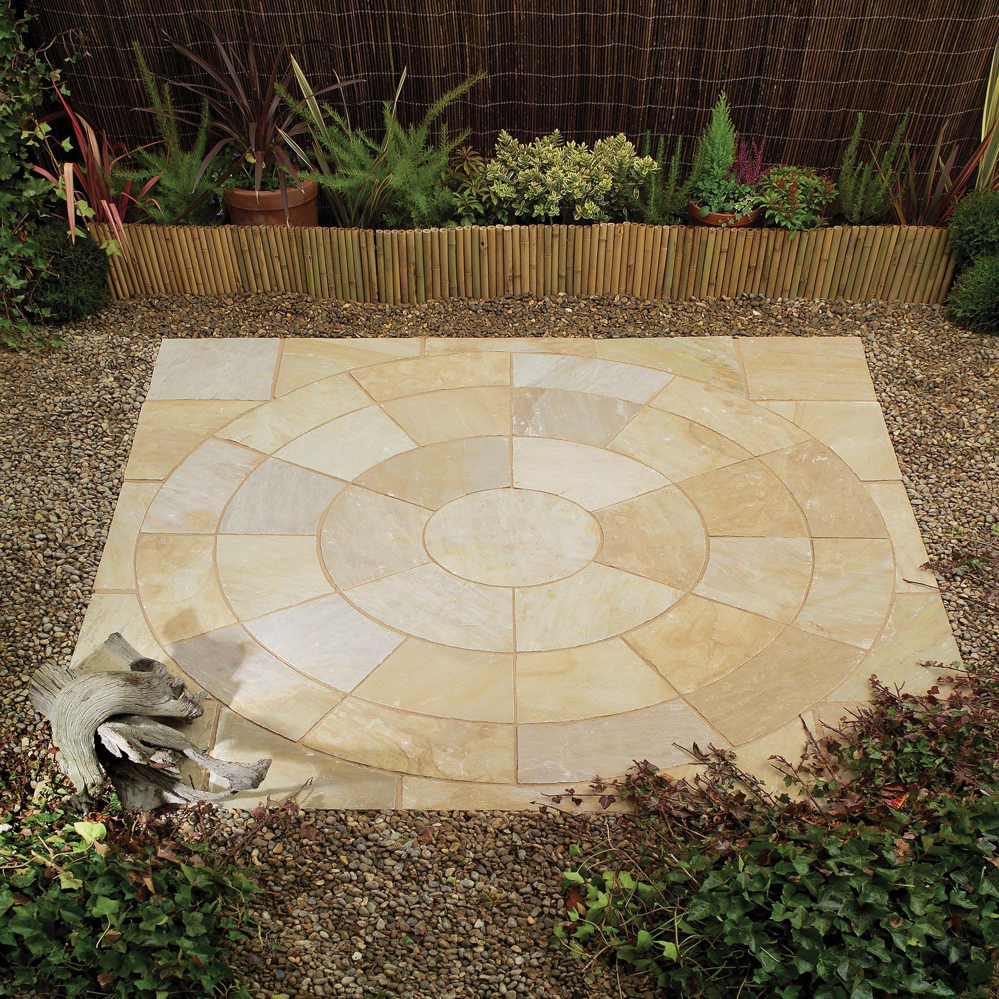 Natural Camel Circle and Infill Kit at Tesco Direct