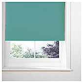 Thermal Blackout Blind, Teal 60cm