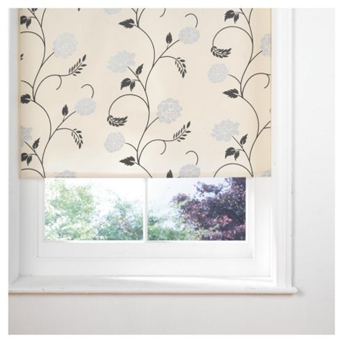 Designed Roller Blind, Cornelia Cream 120Cm