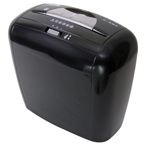 Fellowes Powershred® P-35C Cross Cut Shredder with Safety Lock and 12 Litre Bin Black