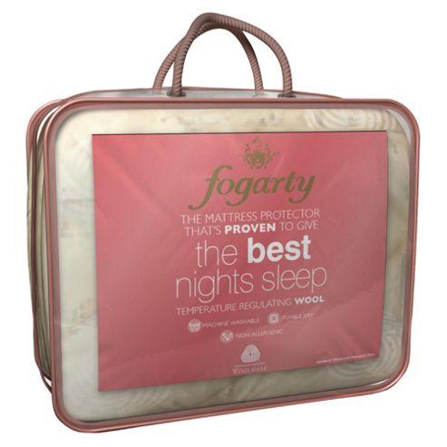 Fogarty Wool Best Nights Sleep Single Mattress Protector