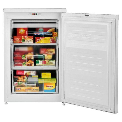 Beko ZA630W Undercounter Freezer, Freezer Capacity: 85 Litres, Energy Rating A, Width 54.5cm. White