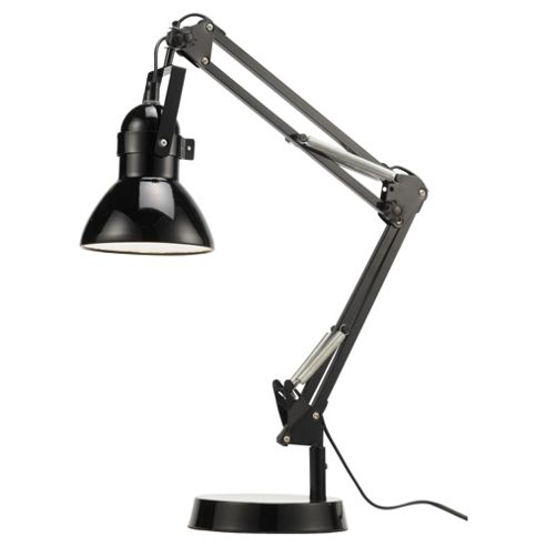 Tesco Lighting Retro Desk Lamp, Black