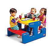 Little Tikes Junior Primary Picnic Table