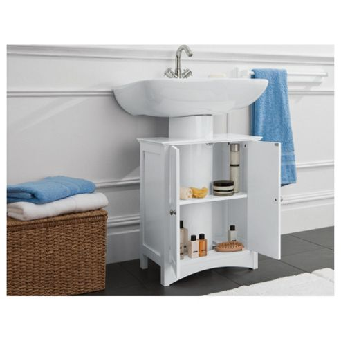 Buy southwold under sink storage unit white from our for Bathroom under sink storage