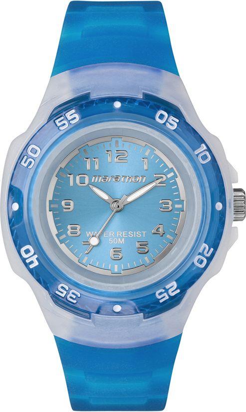 Timex Jelly Blue Watch