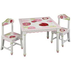 Guidecraft Sweetie Pie Table and Chair Set