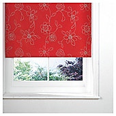 Designed Roller Blind, Clematis Red 120Cm