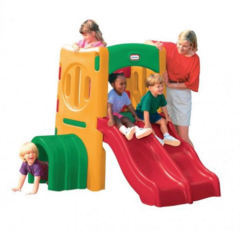 Little Tikes Twin Slide Tunnel Climber