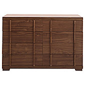 Brandon 8 Drawer Chest, Walnut-Effect