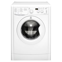 Indesit IWD7145 Washing Machine, 7kg Wash Load, 1400 RPM Spin, A Energy Rating. White