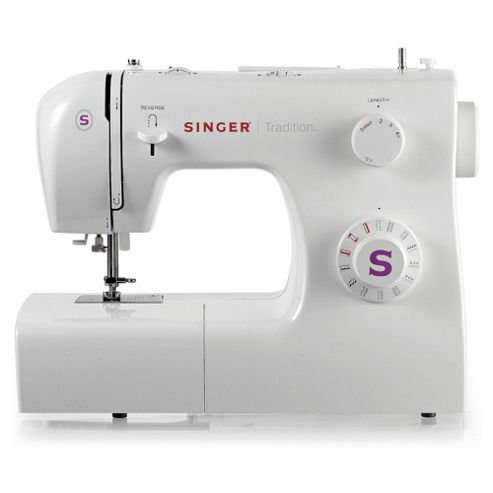 Singer 2263 Electronic 4 step Buttonhole Sewing Machine - White