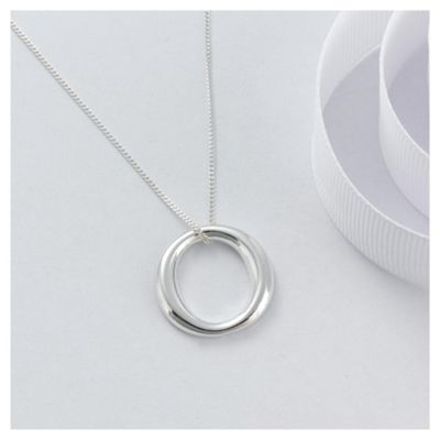 Sterling Silver 'O' Pendant