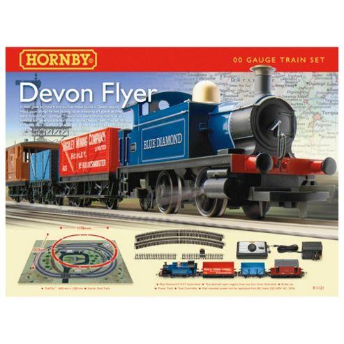 Hornby Devon Flyer Train Set