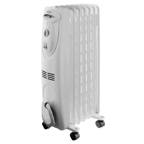 DeLonghi 1.5Kw Oil Filled Radiator White
