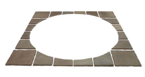 Sunstone Pewter Corner Infill Kit